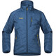 """Bergans Boys Josten Lt Insulated Jacket Steel Blue/Dark Steel Blue/Yellow Green"""